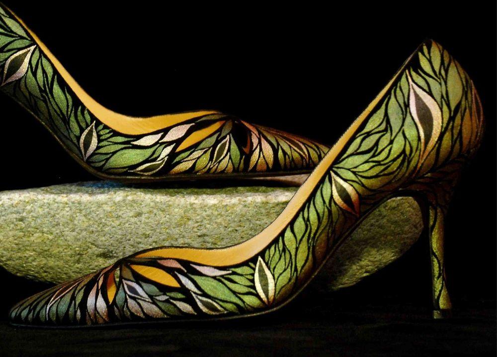 роспить на обуви