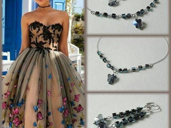 Анонс! Новый комплект Радужные бабочки от Olga Gardenia | Ярмарка Мастеров - ручная работа, handmade