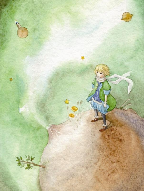Картинки из произведения маленький принц