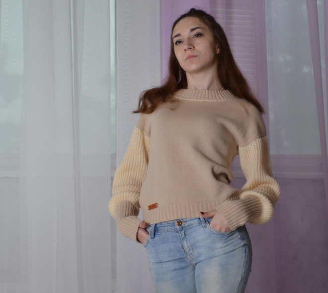 свитера, пуловер вязаный