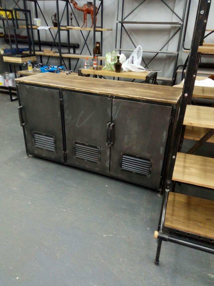 industrial, комод из металла