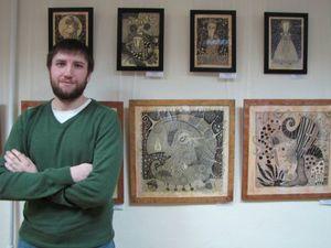 Графический сюрреализм художника Александра Васильева. Ярмарка Мастеров - ручная работа, handmade.