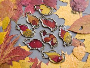 Кошки, хранящие осень. Ярмарка Мастеров - ручная работа, handmade.