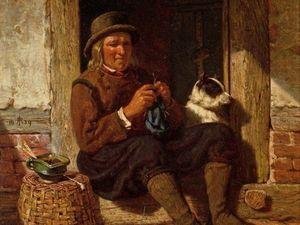 Вязание придумали мужчины!. Ярмарка Мастеров - ручная работа, handmade.