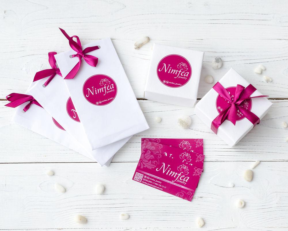 nimfea, отправка заказов, отправка почтой, отправление, упаковка для украшений, фирменный стиль, коробочки