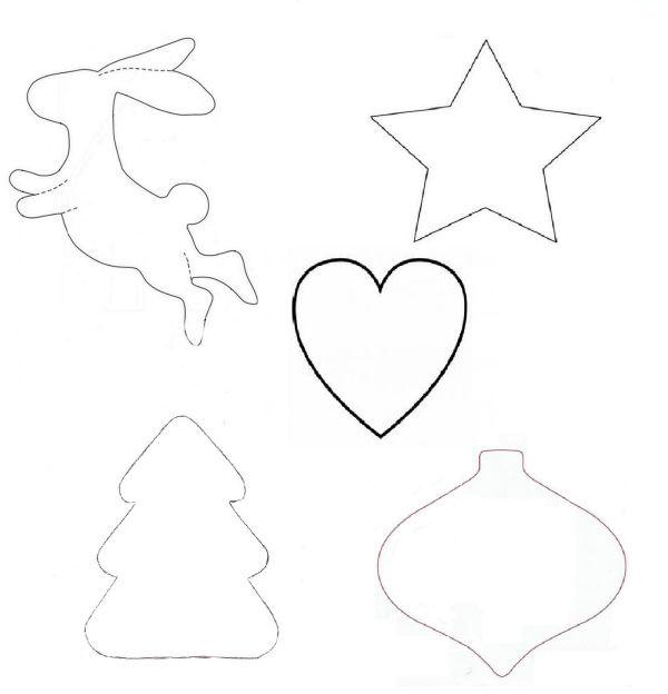 новый год 2017, сердечко, елочка, звёздочка, елочные украшения