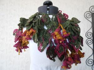 Распродажа оригинальных шарфиков! Скидка   20 % на все шарфики , кроме товара по акции. Ярмарка Мастеров - ручная работа, handmade.