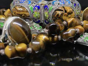 Собери свою коллекцию  тигрового глаза!. Ярмарка Мастеров - ручная работа, handmade.