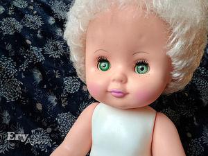 Кукла Оля. Преображение. Ярмарка Мастеров - ручная работа, handmade.
