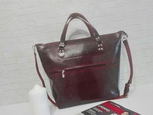 Скоро открытие нового магазина кожаных сумок !. Ярмарка Мастеров - ручная работа, handmade.