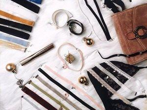 Чокер в подарок при покупке хрустально-жемчужного украшения. Ярмарка Мастеров - ручная работа, handmade.