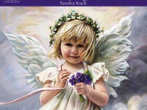 Счастливый мир детства - xудожница Sandra Kuck. Ярмарка Мастеров - ручная работа, handmade.