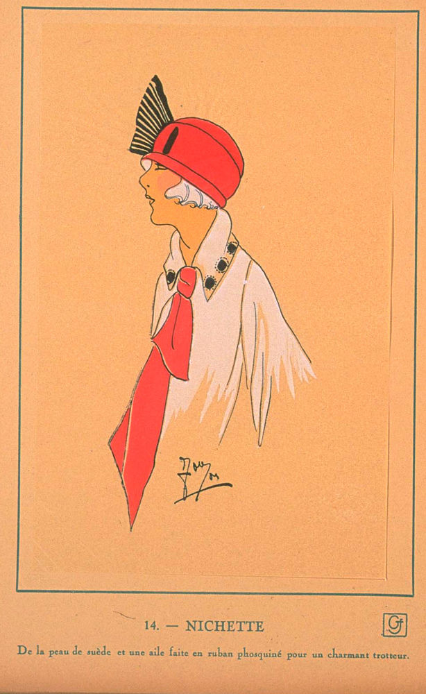 Ах, какие шляпки! Шляпная мода 1922 года по версии французского журнала «Les chapeaux du Tres parisien». Часть 2, фото № 16