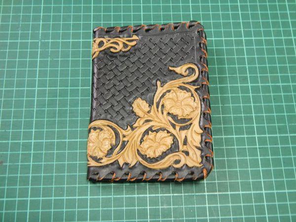 Создаем кожаную обложку на паспорт с тиснением в стиле Шеридан | Ярмарка Мастеров - ручная работа, handmade