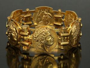 Мужской браслет. Эксклюзивный мужской браслет. Браслет с монетами. Ярмарка Мастеров - ручная работа, handmade.