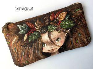 Аукцион на Косметичку с росписью