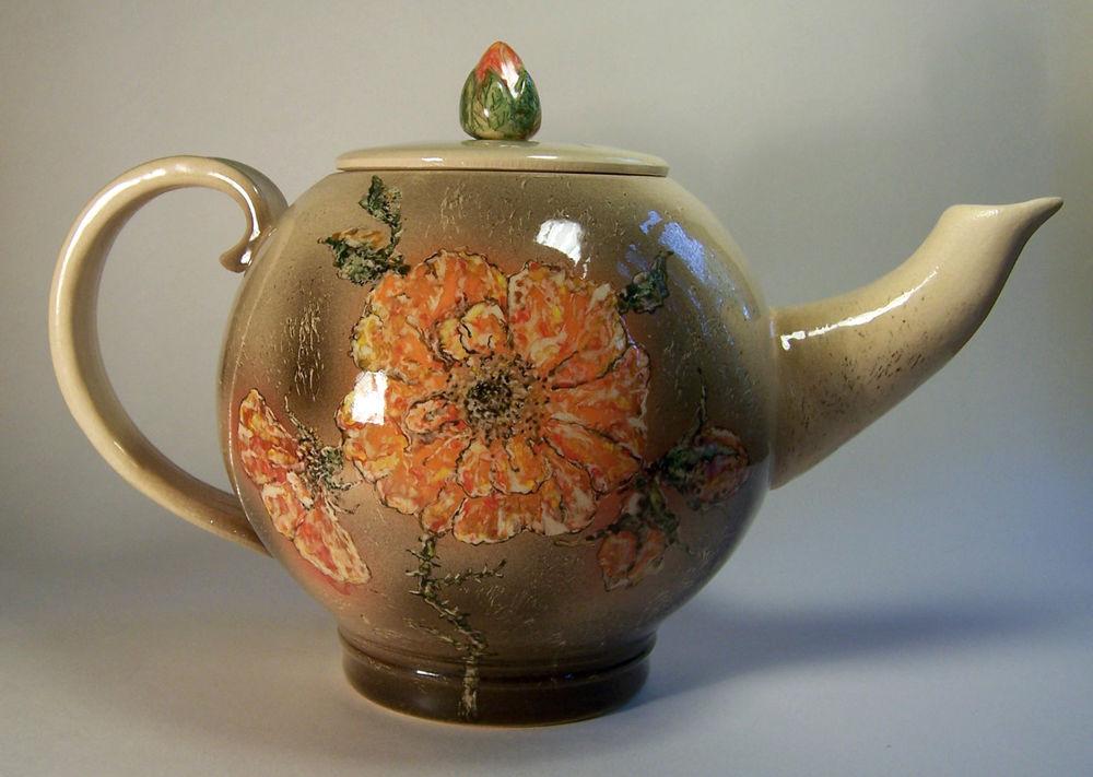 гончарное искусство, чайник обучение