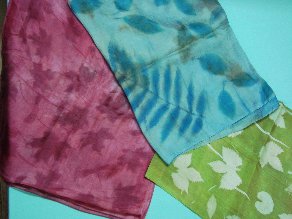 медиумпринт, шёлковый шарф, шелк узбекский, шелк для крашения