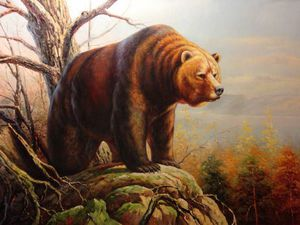 Медведи в истории зарубежной живописи. Ярмарка Мастеров - ручная работа, handmade.