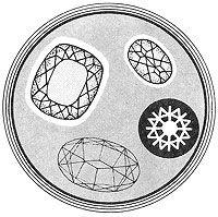 свойства камней, дихроизм, опалесценция