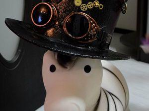"""Шляпы в стиле """"стимпанк"""". Ярмарка Мастеров - ручная работа, handmade."""