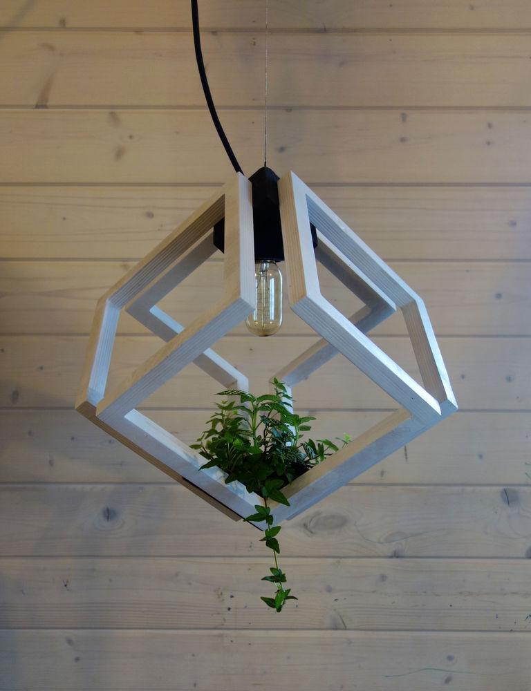 квадрат, из фанеры, светильники из фанеры, подсвечник