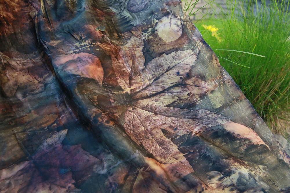 роспись по ткани, эко-крашение