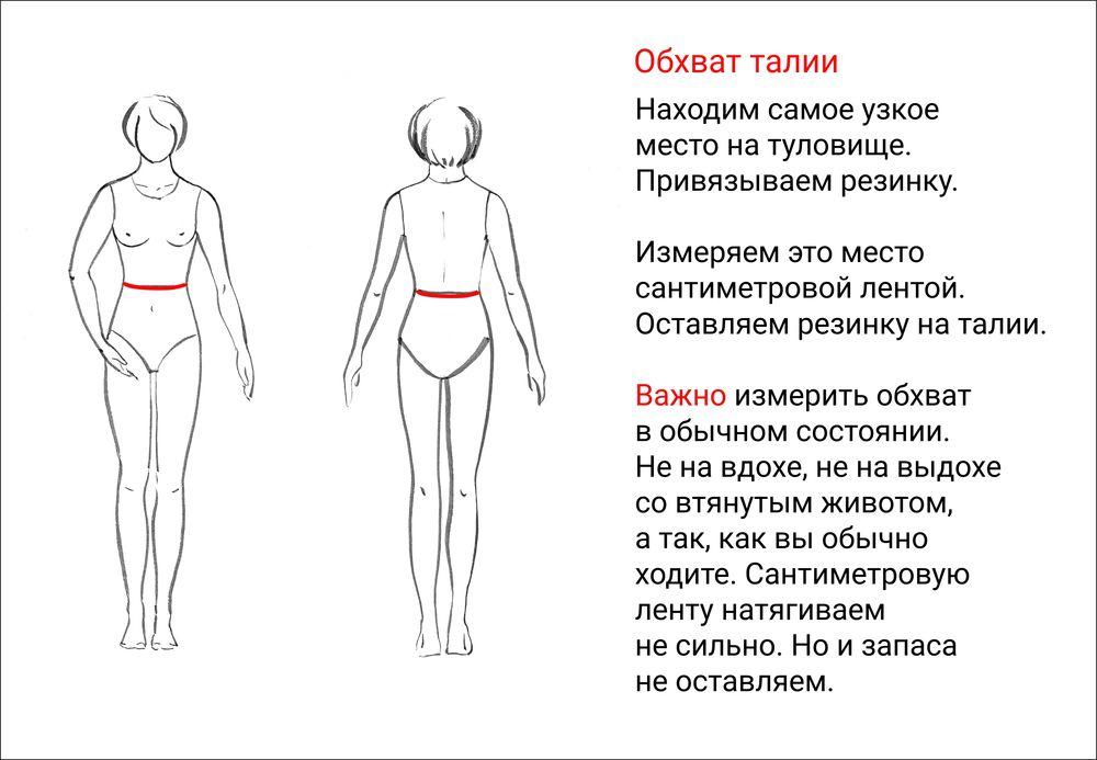мерки для одежды