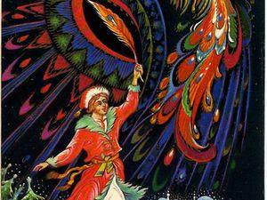 Птица Феникс, Финист- Ясный  Сокол, Жар Птица и  галстук   Ярмарка Мастеров - ручная работа, handmade