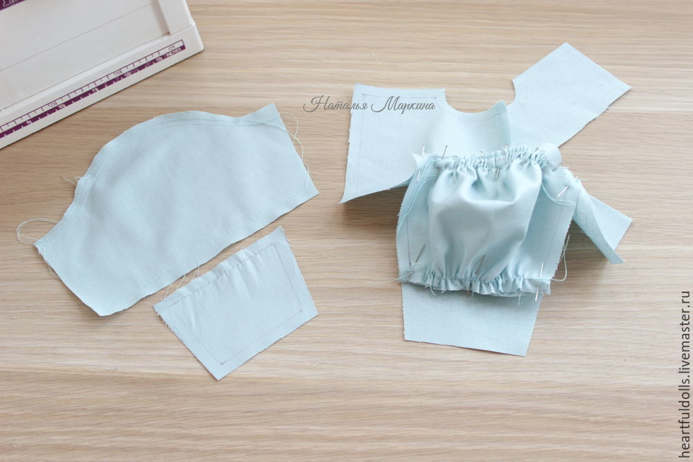 Шьем текстильную куклу Аленушку, фото № 23