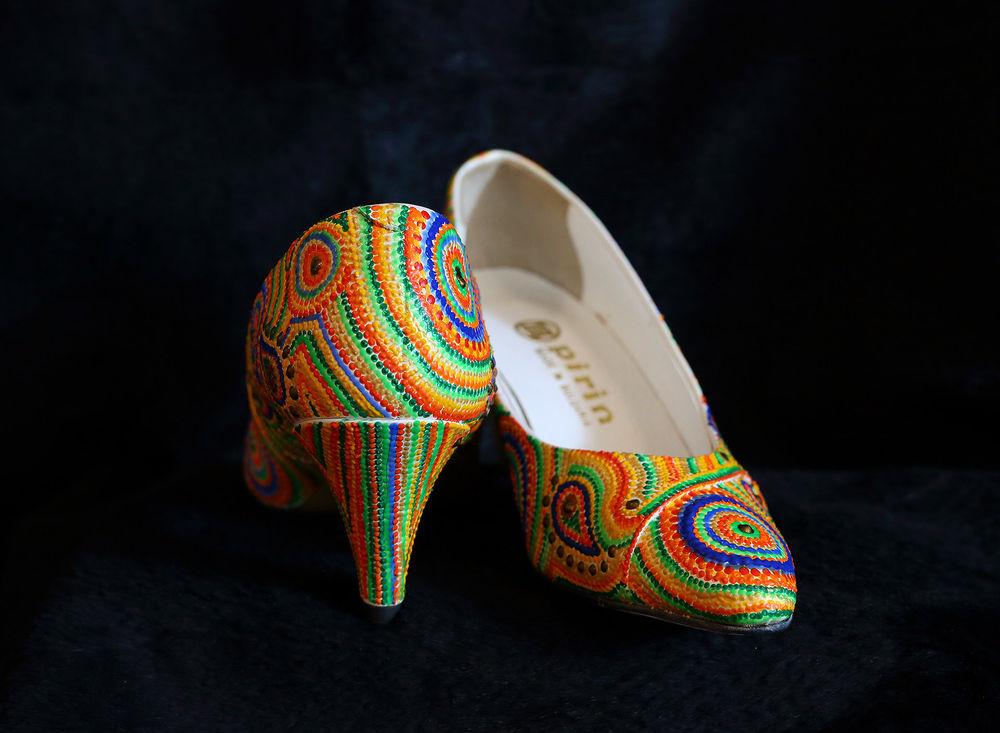 декор обуви, хэнд мэйд