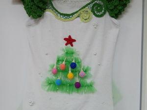 Шьем новогодний костюм «Елочка» своими руками. Ярмарка Мастеров - ручная работа, handmade.