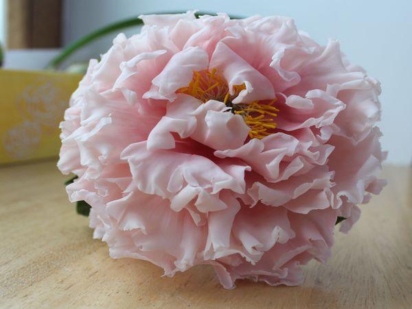 Мастер-класс Пион розовый древовидный. | Ярмарка Мастеров - ручная работа, handmade