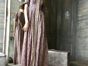 Видео платья-New collection.Платье в винтажном стиле