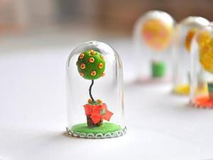 Creating a Mini Topiary Under Glass. Livemaster - handmade