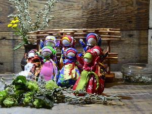 Делаем куколку-саше «Малышка Травница» | Ярмарка Мастеров - ручная работа, handmade
