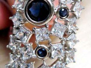 Адвент календарь. День 21. Бесплатная доставка на кольцо с сапфирами. | Ярмарка Мастеров - ручная работа, handmade