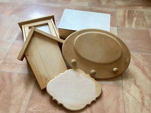 Отдам даром деревянные заготовки. Москва, м. Бибирево, самовывоз | Ярмарка Мастеров - ручная работа, handmade