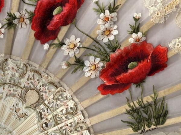 Испанская вышивальщица Pilar Marzal и ее изумительные цветочные вышивки | Ярмарка Мастеров - ручная работа, handmade
