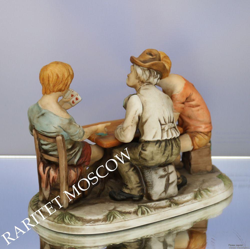 фарфоровая статуэтка, каподимонте