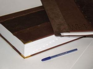 Всё для Большого Босса .Книга для записей формата А4 .Папка для документов.Блокнот неформатный с разделителями и монограммами.. | Ярмарка Мастеров - ручная работа, handmade