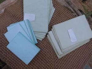 Лето закончилось ,жара спала - я сделала холодного оттенка мятную бумагу !!!! Победа !!!  Блокноты ручной работы.. Ярмарка Мастеров - ручная работа, handmade.