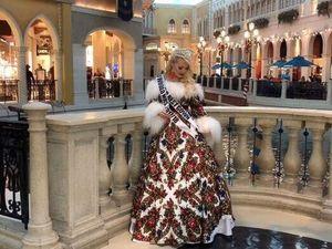 Rumi awards Mrs World 2018 Лас Вегас , Ульяна в платье от Модного Дома August van der Walz. Ярмарка Мастеров - ручная работа, handmade.