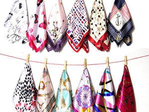 Акция на платки и шарфы. Ярмарка Мастеров - ручная работа, handmade.