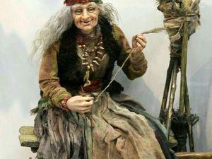 Баба Яга, как оберег домашнего очага. Ярмарка Мастеров - ручная работа, handmade.