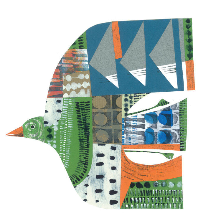 Cheerful Animals of Paper and Fabric by the Designer Clare Youngs, фото № 20