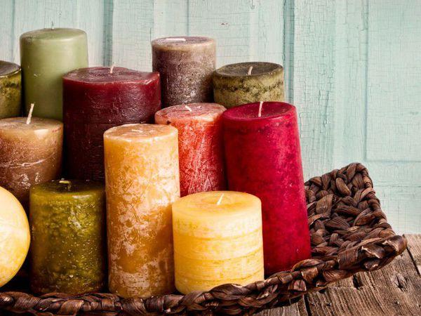 Травяные свечи | Ярмарка Мастеров - ручная работа, handmade