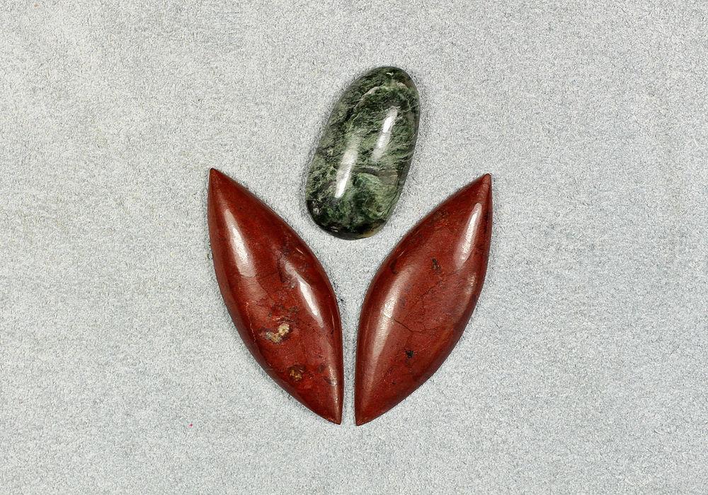 сокровища гнома, сет камней, лилия