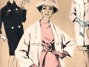 Вдохновляющие иллюстрации на страницах старых журналов мод. Ярмарка Мастеров - ручная работа, handmade.