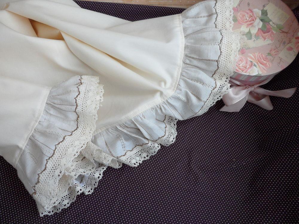 фру-фру, юбка с кружевом